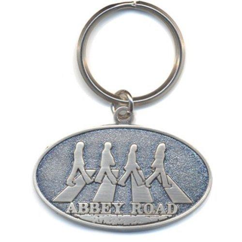 Beatles (The): Abbey Road Crossing (Portachiavi Metallo) Rock Merchandising