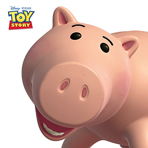 Disney Póster del Cerdito Hamm de la película Toy Story, 40x 40cm