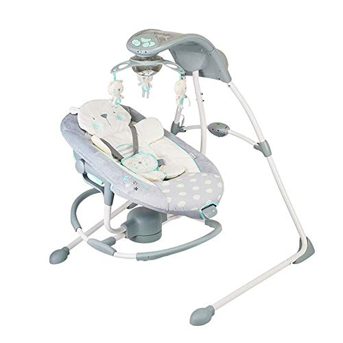 Imagen para CWLLWC Silla Mecedora de bebé, Coax bebé artefacto eléctrico de Confort Cuna Cama niño Coax Dormir Mecedora Infantil