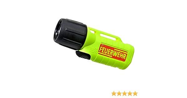 Helmlampe UK 2AA eLED Z2, Zone 2, neon gelb, Feuerwehr, Ex