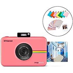 Polaroid Snap Touch 2.0 - Appareil Photo Numérique de 13 Mp, Bluetooth, Écran Tactile LCD, Vidéo 1080P et Nouvelle Application, 5 x 7,6 cm, Rose