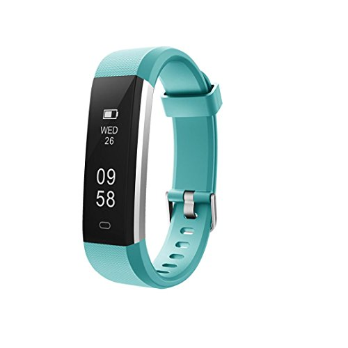 LCLrute Mode ID115U Bluetooth Smart Watch Armband Armband Schrittzähler Sport Fitness Tracker (Hellblau)
