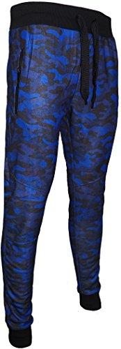 Harvies Fashions -  Tuta da ginnastica  - Uomo Blue