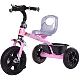 GoodLuck Baybee - Children Plug And Play Kids Tricycle Trike With Storage Bin Kid's For 2-5 Years Baby Tricycle Ride On Outdoor | Suitable Babies For Boys & Girls - (Pink)