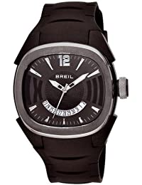 Breil Milano - BW0313 - Montre Mixte - Quartz - Analogique - Bracelet Caoutchouc noir
