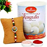 Haldiram Rakshabandhan Rasgulla Special Rakhi Combo Gift Pack