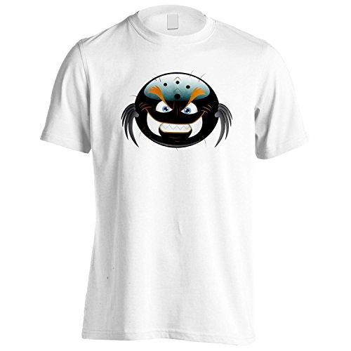 INNOGLEN Smiley Freche Teufel Gesicht Neuheit lustige Vintage Kunst Herren T-Shirt a265m (Freche Vintage-t-shirt)