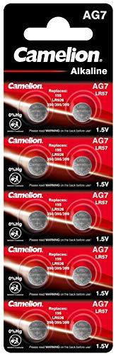 Camelion AG7 LR57/LR926/395 Blister de 10 Piles 0% Mercure