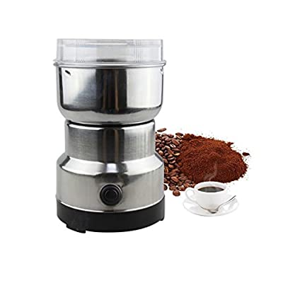 Cutogain 220V Electric Coffee Grinder Grinding Milling Bean Nut Spice Matte Blender
