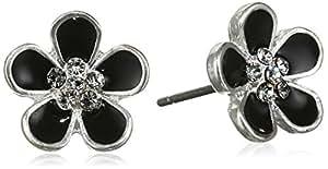 Pilgrim - Boucles d'oreilles - Plaqué argent - Cristal - 601536143