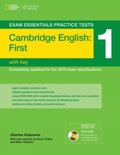 Exam essentials practice tests: fist FCE. Without key. Per le Scuole superiori: 1 (Exam Essentials: Cambridge First Practice Tests)