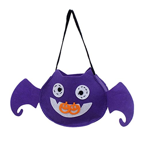 (HCFKJ 2017 Mode Halloween SüßIgkeit Beutel Imbiß Paket Kind Haushalt Kind Garten Ausgangsdekor (B))