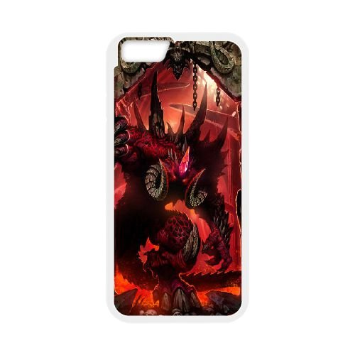 Diablo coque iPhone 6 4.7 Inch Housse Blanc téléphone portable couverture de cas coque EBDXJKNBO09271