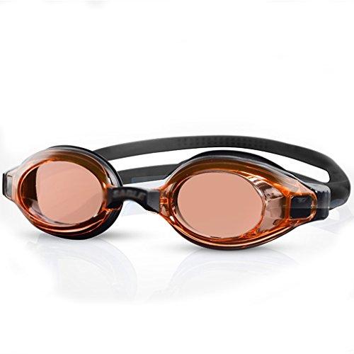 NPZ * Schwimmen Gläser Anti-UV-Anti-Fog wasserdicht HD Männer und Frauen erhältlich Erwachsene professionelle Ausbildung Schutzbrillen Schwimmen Ausrüstung Schwimmbrille (Color : C) -