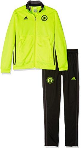 adidas Chelsea PES Suit Y Chándal, Niños, Amarillo Rojo (Amasol/Negro/Granit), 15-16 años