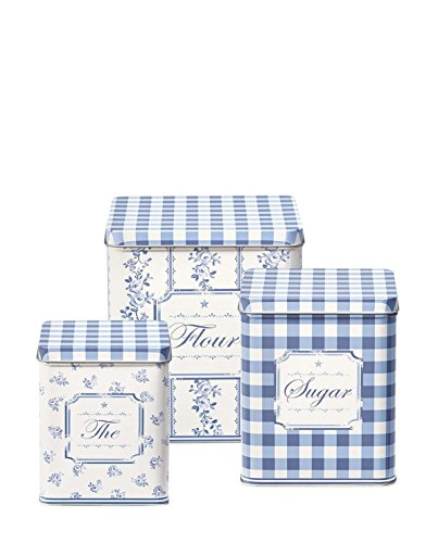 Greengate Audrey Aufbewahrungsdose Set indigo One Size