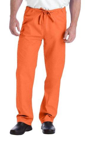 Landau Unisex Scrub Pant - Orange Scrub Hose