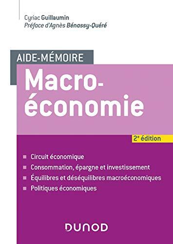 Aide-mémoire - Macroéconomie - 2e éd. par  Cyriac Guillaumin