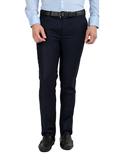 Inspire Premium Blue Slim Fit Trouser (30) (30)
