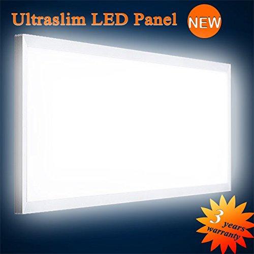 Panel-wolle (Mextronic LED Panel Deckenpanel Wandpanel Ultraslim LED Panel Neutralweiß 6000LM 75W 120x60CM dimmbar)