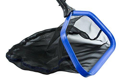 ATIE poolsupplytown Professional Grade Heavy Duty 44,5cm Zoll Pool Leaf Skimmer Net Rake w/Aluminium Rahmen & Tief und langlebigem Nylon Net -