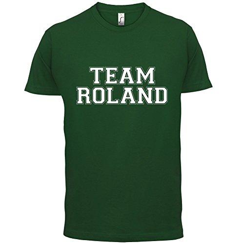 Team Roland - Herren T-Shirt - 13 Farben Flaschengrün