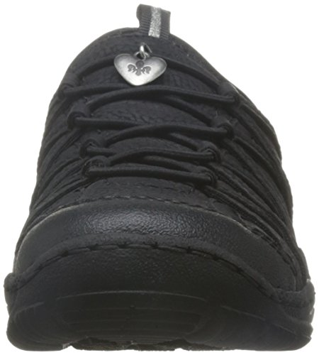 Rieker L0551, Baskets Basses Femme Noir (Schwarz/schwarz/schwarz)