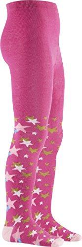 Playshoes Mädchen Strumpfhose Sterne, Textiles Vertrauen nach Oeko-Tex Standard 100, Gr. 86 (Herstellergröße: 86/92), Rosa (pink 18)