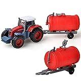 TKHCOLDM Trattore Giocattolo per trattori a cingoli per Macchine agricole Trattore agricolo per trattori agricoli - YE15