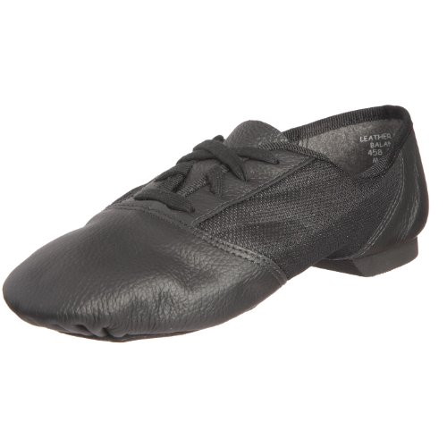Capezio 458 Black Split Jazz Shoe,6 UK