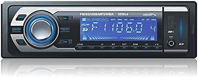Audiocore - Ac9300b - reproductor de medios digitales para coche mp3/wma/usb/sd radio control remoto incluido