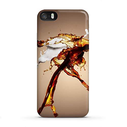 artboxONE Premium-Case Handyhülle für Apple iPhone SE Milch und Kaffee von reinhardthomas - Md Milch