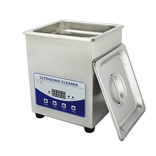 skymen 2Liter Ultraschall-Reiniger mit Timer und Heizung und Degas Funktion