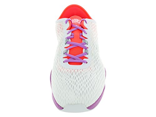 Mtllc Zoom Ht Glw L Slvr Toe White Round Fit Synthetic Fchs Sneakers 7Yq7rx