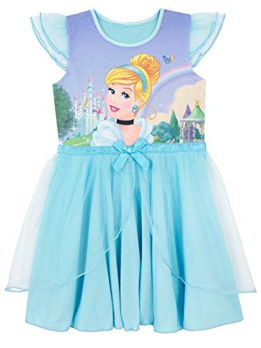 Disney Mädchen Cinderella Nachthemden Blau 110