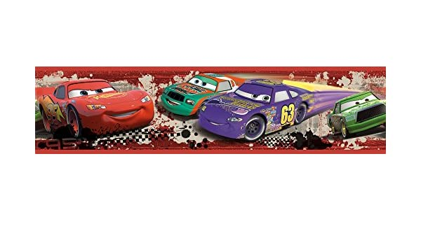 RoomMates RMK1516BCS RM - Disney Cars Piston Cup Bordüre Wandtattoo ...