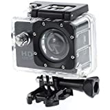 Piqancy HD Sport Action Camera Built-in Detachable Li-Battery, Easy To Exchange, Support Micro SD/TF Card Up To 32GB, 1080P 1.5 Inch LCD Screen