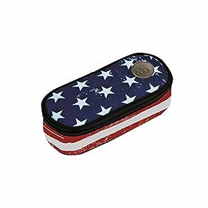 Busquets Estuche Horizontal USA Flag by