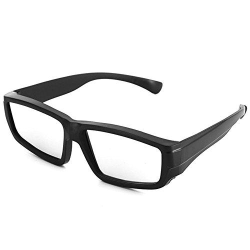 Faironly 3D Solar Sonnenbrille, direkter Sonnenblick, Sicherheitsbrille für Kinder und Erwachsene Schwarz