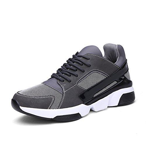Estate spesse suole di scarpe antiscivolo/Confortevole e traspirante scarpe casual/Scarpe moda Board Grigio