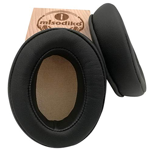 Misodiko Coussinets coudés de Rechange pour écouteurs Sennheiser Momentum 2.0/1.0 (M2/M1), HD1 OverEar Earphones, pièces de réparation de Casques