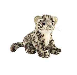 HANSA-Peluche Leopardo de Las Nieves Sentado 20CMH/20cml