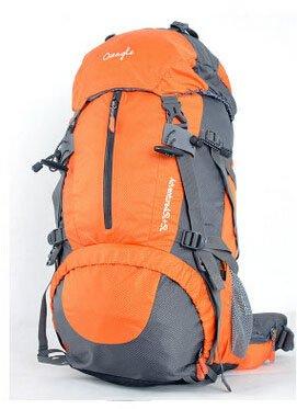 Cinny Klettern Taschen wasserdicht Wandern outdoor Rucksack Ripstop 50L 60L orange-60L