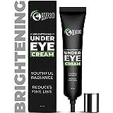 Beardo Naturals Brightening Under Eye Cream for Men | Reduce wrinkles fine lines and dark circles | Restores youthful glow |