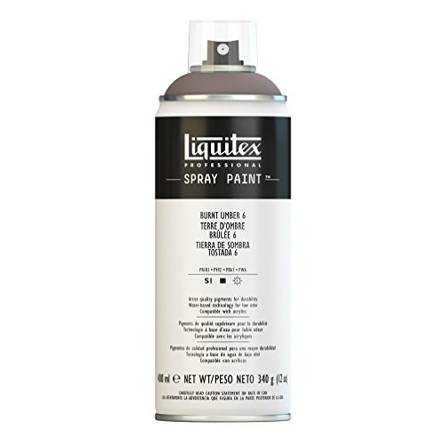 Liquitex Professional - Acrílico en spray, 400ml, tierra de sombre tostada 6