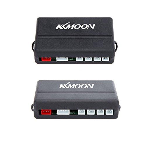 KKmoon voiture LED Parking Par système radar de recul avec affichage rétro éclairé + 4 capteurs (Blanc / Bleu / Gris / Rouge / Argent / Noir)