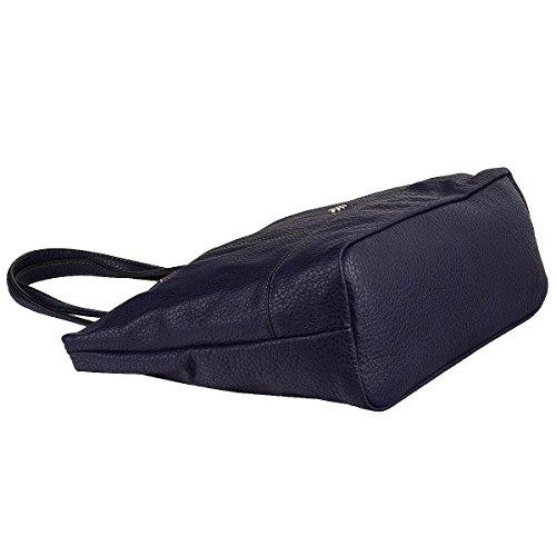 Gerry Weber Half Moon Shopper Handtasche Schultertasche Tasche 4080003271 Blue