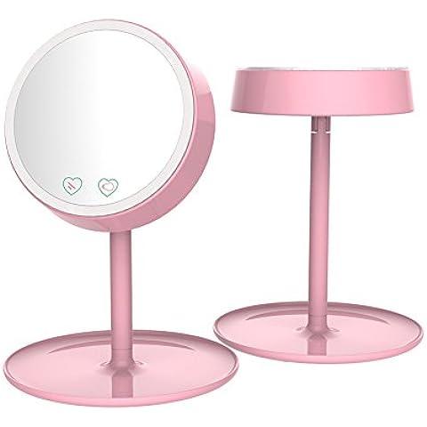 Specchio Cosmetico, jxz-H [2 in 1] LED