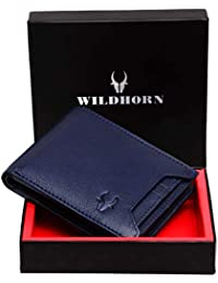 WildHorn RFID Protected River Genuine High Quality Mens Leather Wallet.