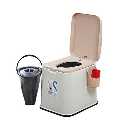 MyAou-commode Portable Camp Toilette Portable Toilette Voyage Camping Randonnée Pique-Nique Festival en Plein Air (Couleur : A)